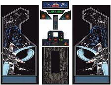 Full Set Side Art Arcade Cabinet Star Wars Artwork Decals Restoration