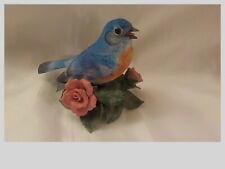 "New ListingLenox Eastern Bluebird Porcelain Figurine Garden Bird Collection 3 1/2"" Taiwan"