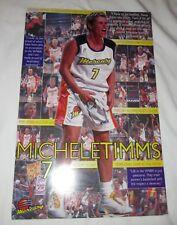 MICHELE TIMMS Night #7 August 7 2002 Phoenix Mercury POSTER WNBA Basketball