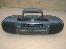 Vintage Magnavox Aw-7050*17 Dual Cassette Am/Fm Portable Radio