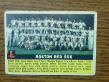 1956 Topps Boston Red Sox 111 Baseball Card
