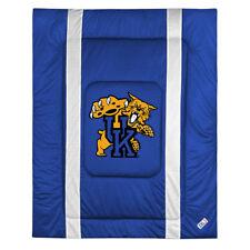 NCAA Kentucky Wildcats Twin Size Comforter - College Sidelines Team Logo Bedding