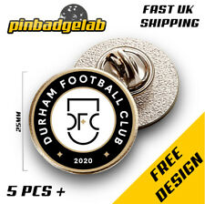 More details for 20mm custom personalised football award party gift pin badges