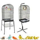 RAINFOREST CARACUS LARGE BLACK BUDGIE COCKATIEL FINCH CANARY CAGE & STAND