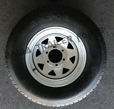 "GALVANISED 15"" WHEEL  6 STUD LAND CRUISER  WITH 235R15 TYRE!TRAILER PARTS"