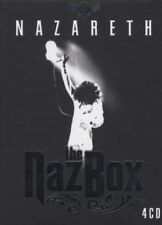 NAZARETH - THE NAZ BOX 4 CD ROCK 69 TRACKS NEU