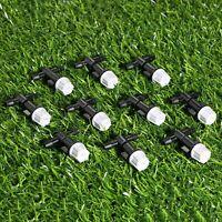 20 x Tee joints Misting Sprinkler Heads Nozzles Set Garden Watering Irrigation