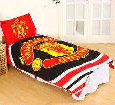 Manchester Utd FC Football Club PULSE Reversible Single Duvet Cover Set Red