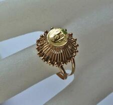 Goldring Ring mit Motiv  in aus 18Kt 750 Gold Finger Damen Ringe Gr.54