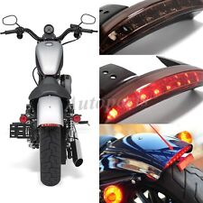 12V LED Motorcycle Bobber Brake License Plate Tail Light For Harley 1200X 48 USA