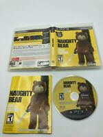 Sony PlayStation 3 PS3 CIB Complete Tested Naughty Bear Gold Edition Ships FAST