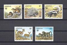 LESOTHO 1977 SG 329/33 MNH Cat £25