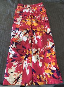 Spyder Youth Size 14 Snowpants Pink/Orange Ski Pants