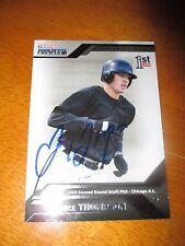 TRAYCE THOMPSON Signed 2009 TriStar Prospects Plus Card AUTO Autograph White Sox