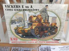 Modelkit Mirage Hobby Vickers E MK A Tank on 1:35 in Box
