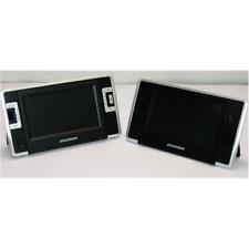 """Sylvania Sdvd8730 7"""" Dual-Screen Portable Dvd Player Black"""