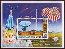 MONGOLIE BLOC N°24** Bf  Espace, Ballons TB, 1971 MONGOLIA Space SHEET MNH