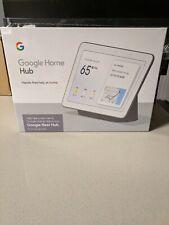 Google Nest Hub with Built-In Google Assistant, Chalk (GA00516-US)