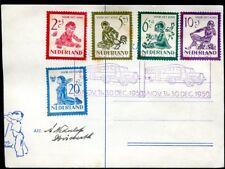 Niederlande Nr. 565 - 569 FDC Voor het Kind