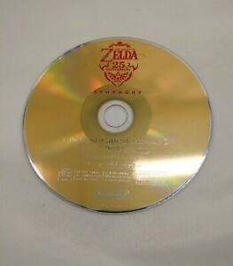 The Legend of Zelda Skyward Sword 25th Anniversary Symphony CD Soundtrack