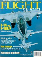 FLIGHT JOURNAL FEB 02 L-19 BIRDDOG KOREA / VIETNAM RF-4 / B-26 FLAK / WW2 GLIDER