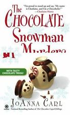 The Chocolate Snowman Murders 8 by JoAnna Carl (2009, Paperback) Cozy Mystery