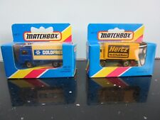 MATCHBOX MB20 MB72 VOLVO COLD FRESH HERTZ DELIVERY TRUCK SEALED IN UNOPENED BOX