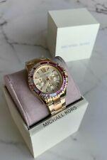 Michael Kors Stone Watch MK5871 Trapezia stones. Brand New in Box.