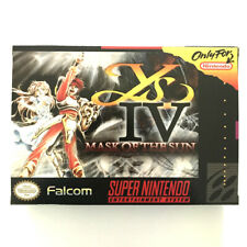 Ys IV  Mask of the Sun  for snes English translate