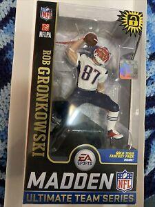 Rob Gronkowski Gronk NE Patriots blue & white EXCLUSIVE Madden NFL 19 McFarlane