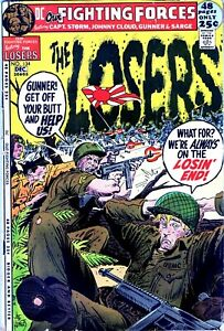 Our Fighting Forces #134 LOSERS DC Bronze Age War 1971!!! -NO RESERVE!