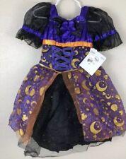 Nwt Girls Size 7/8 Disney Minnie Halloween Costume Purple Black Tulle