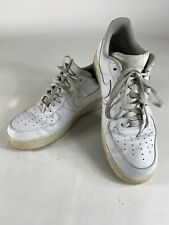 Nike Air Force 1 Men Sz 13 White Leather 315122-111 Athletic Shoes