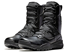 """NIKE SFB FIELD 2 MEN'S 8"""" MILITARY TACTICAL BOOTS [SIZE 10] AO7507-001 BLACK/BLK"""