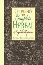 Complete Herbal & English Physician: By Culpeper, Nicholas