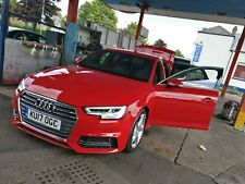 Audi A4 S-Line Saloon 2017 - Over 2k Extras B9 New Shape Cat C Repaired