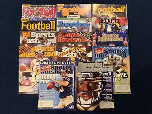 St. Louis Rams Magazine Lot (14) Sports Illustrated And Beckett Kurt Warner