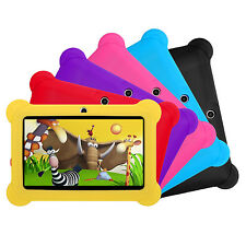 """7"""" Android 8.1 Kids Tablet PC Dual Camera Quad Core 8GB HD WIFI Bundle Case Gift"""
