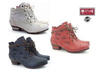 New Mustang Women's Boots Shoes Summer Lace-up Boots  Ankle Boots 1187-505