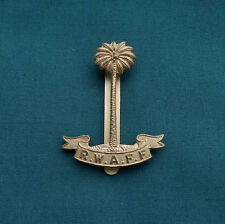 "Royal West African Frontier Force ""GAUNT"" 100% Genuine Military Army Cap Badge"