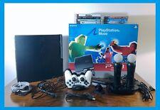 PS3 PLAYSTATION 3 + 2 Joypad + 2 Move + 7 giochi + Accessori