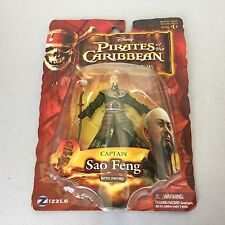 "Pirates of the Caribbean At World's End 3.75"" Figure - Captain Sao Feng #MOSC"