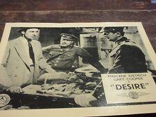 PUBLICITY STILL FOR THE 1936 MOVIE DESIRE