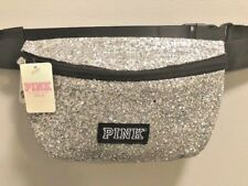 NWT Victoria's Secret PINK Fanny Pack Belt Bag SILVER