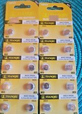 Batteries Expires 2020 .Free Us Shipping 20 Pieces #392 Ag3/ Lr626 Watch