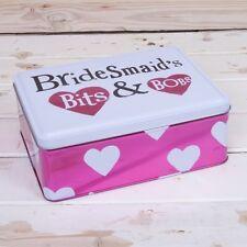 Bright Side Bridesmaids Bits And Bobs Tin - Special Bridesmaid gift Box
