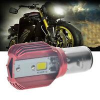 Lampadina LED da moto BA20D a LED da 12W con lampadina ad alta potenza