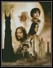 Lord of the Rings Two Towers - Cross Stitch Chart/Pattern/Design/Xsti tch