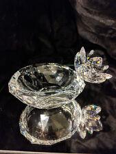 Swarovski SCS Crystal Waterlily Bowl