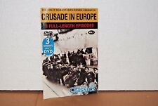 Crusade In Europe Digitally Remastered DVD Vol.1 - 3 Episodes New Factory Sealed